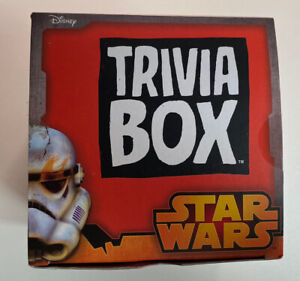 Disney Star Wars Trivia Box Card Game. Sealed Cards Cards Sealed Fans Only