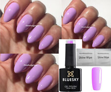 BLUESKY NEON 23 N23 LILAC LAVENDER LUSH SUMMER NAIL GEL POLISH UV LED SOAK OFF
