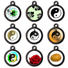 Pet ID Tags Cute Pet Tags Cool Dog Cat Name ID Discs For Collar - Engraved FREE