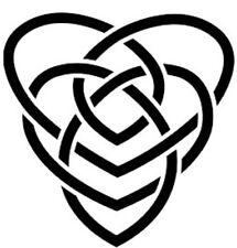 Celtic Motherhood Knot Vinyl Window Sticker Decal Car Wall Irish
