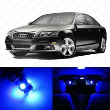 18 x Blue LED Interior Light Package For 2005 - 2011 Audi A6 S6 C6 + PRY TOOL