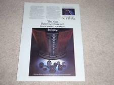 Infinity IRS Reference Std Speaker AD, 1984, Car Audio