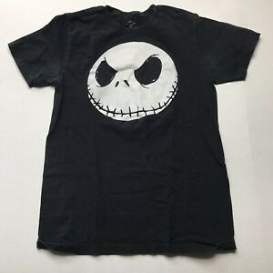 The Nightmare Before Christmas Jack Skellington Head T-Shirt Size Small a661