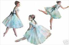 Ballerinas Wallies Decals Cutouts 12176