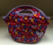 Built BYO Rambler Lunch Bag Soft Neoprene Insulated Multi Color Cute Owls Tote