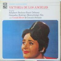 VICTORIA DE LOS ANGELES Songs by Schubert Brahms Faure Debussy Granados LP onHMV