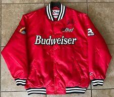 Dale Earnhardt Sr & Dale Earnhardt Jr Dual Signed Chase Budweiser XL Jacket