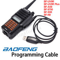 Walkie Talkie USB Programming Cable CD Firmware for Radio BF-UV9R BF-A58 BF-9700