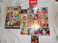 Elvis Presley - 18 CD #1 Singles w/ Promo Poster SEALED 2007 RARE