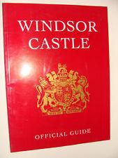 Windsor Castle 1997 UK History Official Guide Book