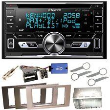 Kenwood DPX-7100DAB DAB+ USB MP3 Einbauset für Ford Focus Fusion Galaxy S-Max