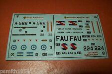 AIRFIX IA-58A Pucara 03068 échelle 1:72 decals