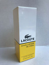 Lacoste Challenge Re / Fresh Men's Eau de Toilette 75ml Spray NEU & OVP