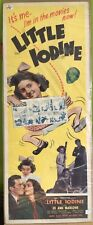 "Little Iodine, Movie Poster, 1946, Joanne Marlowe, Marc Cramer, 14"" x 36"
