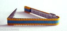 Barrette de rappel fixe ruban de boutonnière médaille des sports niveau ARGENT.