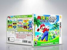Mario Golf World Tour - 3DS - Replacement - Cover/Case - NO Game - US/FR