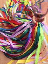 Handmade Montessori Rainbow Ruban Sensorielle Twirling Baby Kids Couleur Anneau jouet 🌈