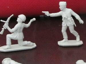 1/32 54mm WW2 Italian Paratroopers Folgore Infantry Toy Soldiers