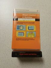 Texas Instruments Home Computer Weight Control And Nutrition Includes And