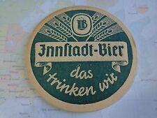 Vintage Beer Bar COASTER ~*~ Innstadt Brauerei Bier ~ Passau, Bavaria, Germany