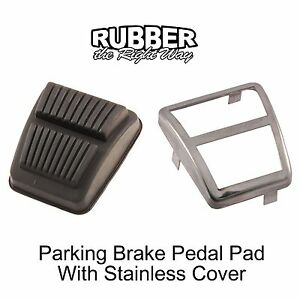 1966 - 1979 Ford Truck / Bronco Parking Brake Pedal w/ Stainless Cover