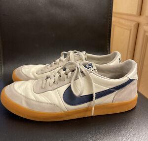 Nike Killshot 2 Leather Sail Midnight Navy Gum Yellow 432997-107 Sz Men's 11.5