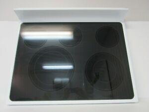 Whirlpool Range Ceramic Cooktop, White  **NEW**  W10472036  ASMN