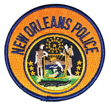 "NEW ORLEANS LOUISIANA LA Sheriff Police Patch CITY SEAL 3.5"" ~"