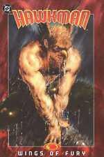 HAWKMAN Volume 3 WINGS OF FURY Graphic Novel