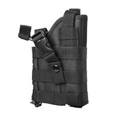 Black Tactical MOLLE Belt Holster Fits GLOCK 19X 22 23 17 19 21 34 35 Pistols