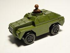 Vintage Matchbox Superfast Rolamatics 1973 Green Stoat Tank No. 28 Die-cast Toy