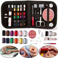 27PCS Mini Sewing Kit Travel Home Carrying Case Sewing Accessories Color Random