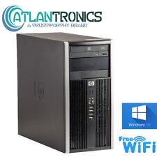 HP 6300 Pro Desktop Computer, 8GB 240gb ssd Intel i5 Quad  3.20GHz, Win 10 WIFI
