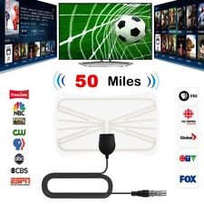 Antena de TV Digital 50m Alcance TV Antena Receptor Antena VHF UHF DVB-T2 ATSC