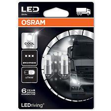 T4W OSRAM LEDRIVING 6000K-Cool Bianco LED Lampadine Auto (pacco doppio di lampadine)