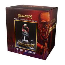 Knucklebonz Rock Iconz Megadeth Vic Rattlehead ST Statua