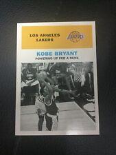 1998-99 Fleer Tradition Vintage '61 Kobe Bryant #1 Base Dunk Over Michael Jordan