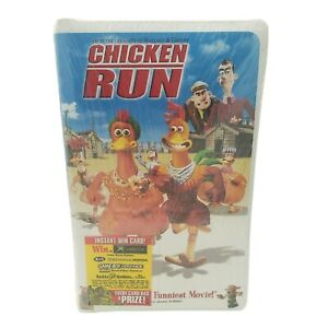 Chicken Run (VHS, 2000, Clamshell) NEW