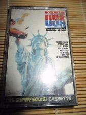 Rockin' the USA Various Artists RETRO compilation MIX cassette Tape