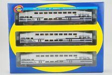 HO Athearn 2580 Metrolink Bombardier 1 Control Car, 2 Coach Passenger 3-Car Set