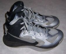 super popular 66904 52790 NIKE Zoom Hyperfuse Mens Size 7.5 Gray   Black Basketball Athletic Sneakers  Shoe