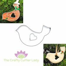 Folk Love bird Cutter for Cookies Crafts FIMO Gingerbread and Cake Decoration