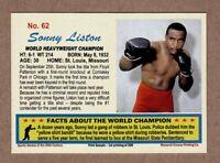 Sonny Liston World Heavyweight Boxing Champ, 20th Century series #62