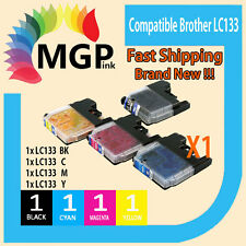 4x Compatible for Brother LC133 MFC- J470DW MFC-J475DW MFC-J6720DW DCP-J245