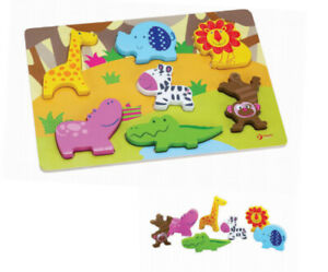 Wild Animal 3D Puzzle by Classic World | Kids Childrens Wooden NEW