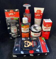 Yes To Tomatoes Skin Charcoal Detoxifying Mud Lot Stocking Stuffer Gift Set 7pk
