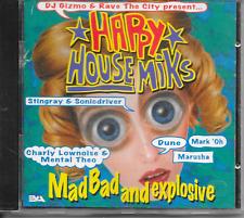 DJ GIZMO - Happy House Miks CD Alnum 30TR (Mixed) Hardcore gabber 1995 (EVA)