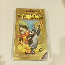 Jungle Book VHS The Collector's edition Retro Vintage Good condition