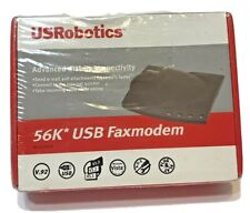 USRobotics USR5633B 56K USB Fax Modem Advanced Dial-up Connectivity New Sealed