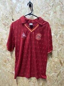 Original Spain Vintage 1988 Le Coq  Spain Home Shirt Size Medium Mens Red